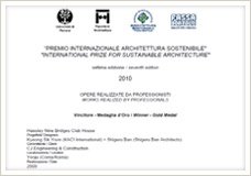 7th International Awards for Sustainable Architecture WINNER